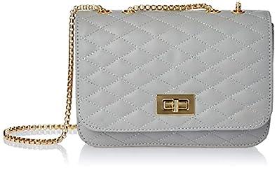 Envias Leatherette Side Sling Bags For Women's Ladies (Grey_EVS-121)
