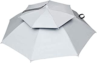 HERCHR Chapeau de Parapluie de 77 cm, Parapluie d'extérieur avec écran Solaire Coupe-Vent Jardinage Pare-Soleil Parapluie ...
