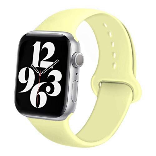 Correa deportiva de goma para Apple Watch Se 6 5 4 Band 44MM 40MM Pulsera Accesorios de correa de reloj cinturón para iWatch Series 4 3 21 38MM 42MM