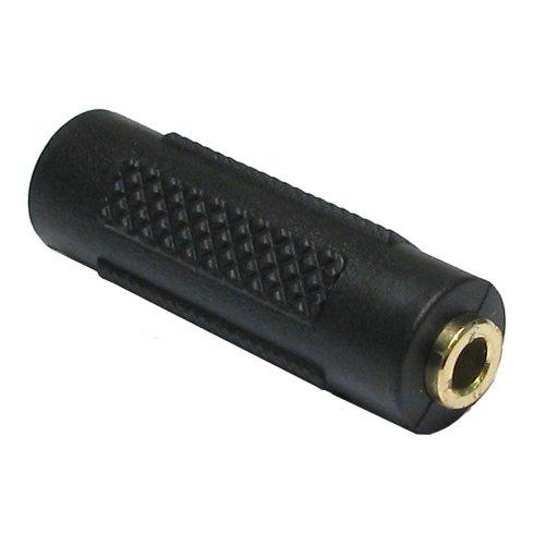 kenable 3,5 mm 3,5 mm Conector Jack Acoplador Acoplador Estéreo Auricular Adaptador Oro
