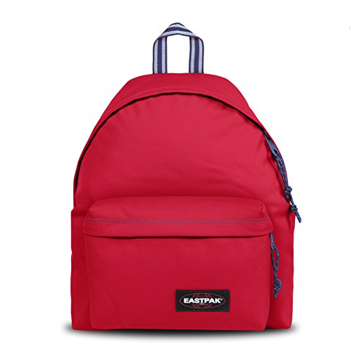 Eastpak PADDED PAK'R Zainetto per bambini, 40 cm, 24 liters, Rosso (Blakout Stop)