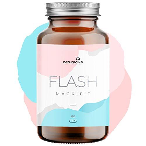 MAGRIFIT FLASH   Potencia el efecto quemagrasas potente para adelgazar de tu dieta   Suplemento natural para dieta de adelgazar rapido y efectivo mujer   Fat burner quema grasas potente y rapido
