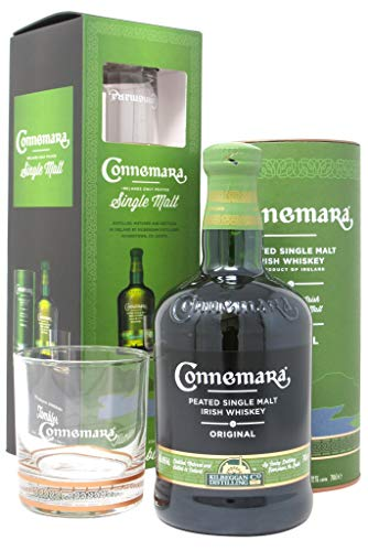 Connemara - Irish Peated Single Malt + Branded Tumbler - Whisky