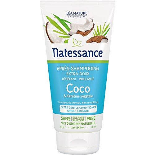 NATESSANCE Après-Shampoing Coco/Kératine Végétale -...