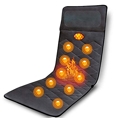 L&F Full Body Electric Massage Mattress Cushion Multi-Function Household with Heating Vibration Adjustable Airbag