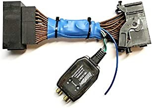 Add An Amp Amplifier Adapter Interface w/Amp Remote Turn On Wire to Factory OEM Car Stereo Radio System for select Chrysler Dodge Jeep Ram Vehicles - Add Subwoofer Bass Amp etc.- No Factory Premium Amp/Bose- Vehicles listed below