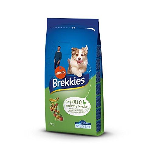 Brekkies Pienso para Perros con Pollo y Cereales - 15000 gr