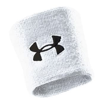 Under Armour Blitz Singlewide Wristbands Midnight Navy//White