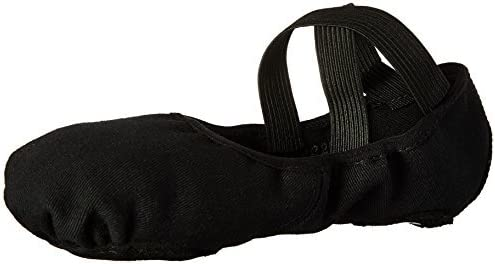 Bloch Women's Infinity Stretch Dance Shoe, Black, 2.5 C US