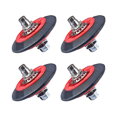 4 Pack 4581EL3001C 4581EL3001A 4581EL3001F LG Dryer Drum Roller 4581EL2002E