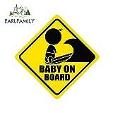 A/X Sticker de Carro 13 cm 12,9 cm bebé a Bordo del Carro del Coche calcomanía portátil Pegatinas de Coche gráficos de Personalidad decoración del Aire Acondicionado
