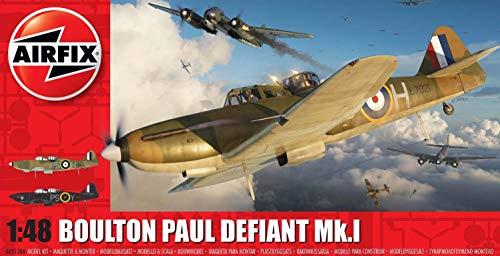 エアフィックス 1/48 イギリス空軍 ボールトンポール デファイアントMk.1 プラモデル X-5128A