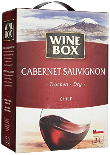 WineBox Cabernet Sauvignon Chile trocken Bag-in-Box (1 x 3 l)