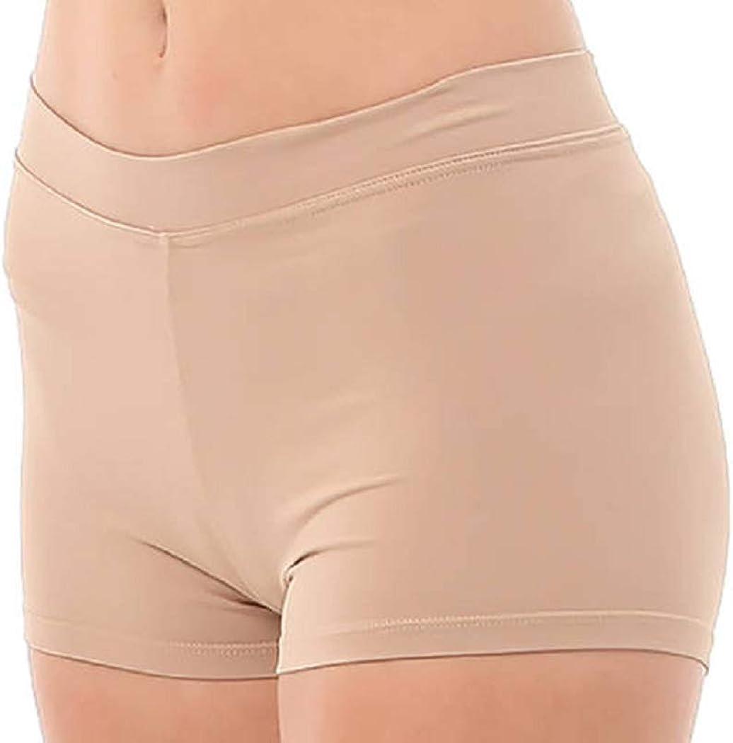 DanceNwear Little Girls Prowear Boy-Cut Short Nude