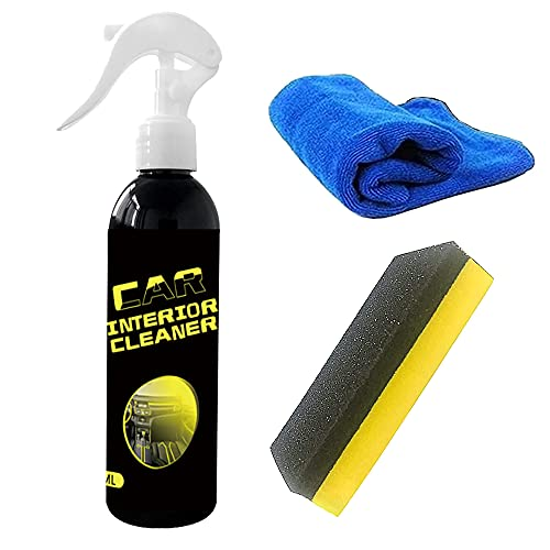 30/100ML Leather Cleaner, Car Interior Cleaner   Leather Restorer   Leather Repair Kit   Leather Conditioner for Sofas, Cars, Furniture (100mL)