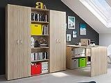 """Büro-Kombi Büroprogramm Komplettset Büromöbelset Arbeitszimmer Büro Trio 555"""" Sonoma"""