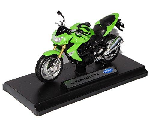 Kawasaki 2007 Z1000 Z 1000 GrÜn 1/18 Welly Modellmotorrad Modell Motorrad