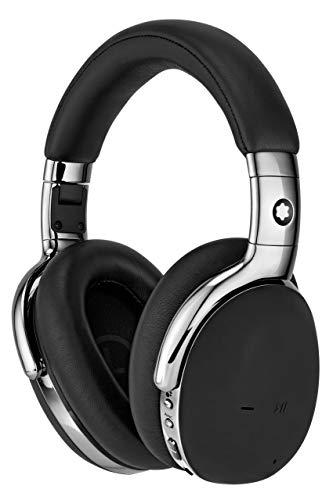 MONTBLANC 127665 Kopfhörer aus Leder Smart MB 01 kabellos mit Zubehör