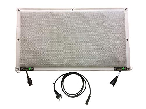 Infrarot Schreibtischheizung für Arbeitsplatz & Privatbereich 180Watt - CO2 neutral Heizen – für Indoor und Outdoor (IP65)