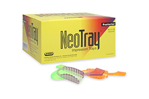 It is very popular Premier PR-2201NT Rare Neotray Impression Tray Posterior of Pack 48