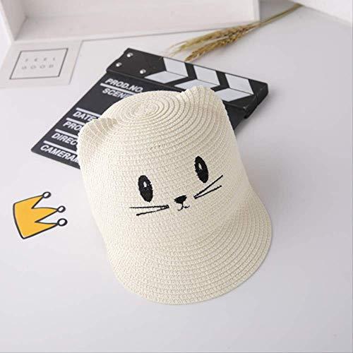 QQYZ baby zomerhoed dunne jongen gras hoed kinderen zonnehoed muts zomer koude hoed 1-3 jaar oud zonlicht