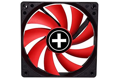 Xilence Performance C Serie | Gehäuselüfter | XPF120.R | 3Pin | 120 mm | rot/schwarz