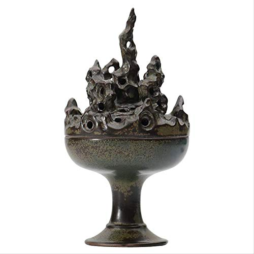 YSSZH Räucherofen, Boshan Furnace Ceramics Family Antique Räucherofen Indoor Sandelholzofen Platte Räucherofen Ornamente