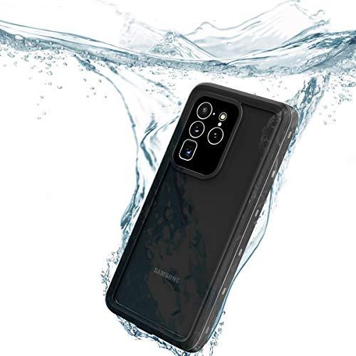 redpepper IP68 Impermeable Carcasas para Samsung Galaxy S20 Ultra 5G 6,9-Pulgadas Delgado Antichoque Antipolvo Cuerpo Completo Sellado Submarino TPU PC Funda, Soporta Carga wirelss