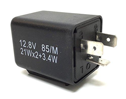 Preisvergleich Produktbild Blinkrelais Blinkerrelais Blinkergeber,  3-Polig,  12V für Motorrad