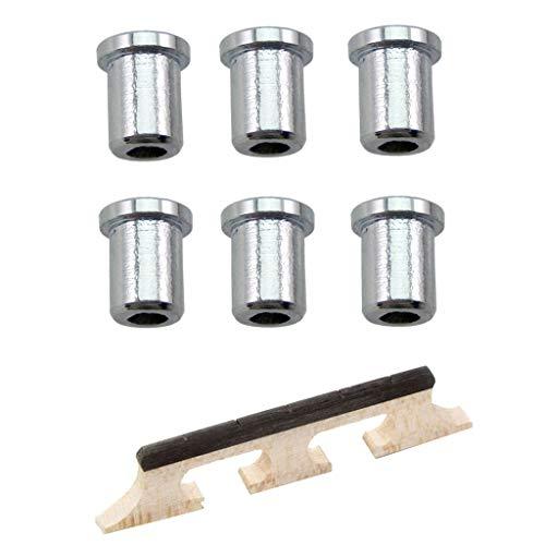 1 Pieza Puente de Banjo de 5 Cuerdas Accesorios para Músicos Producción Musical Duradero