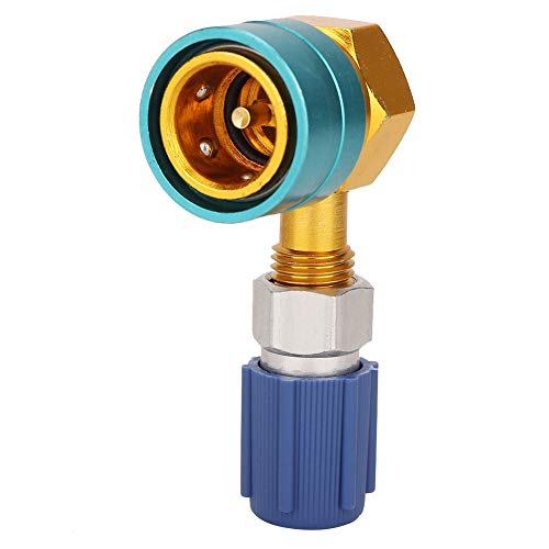 Metall-Verbindungs R1234yf zu R134A Auto-Klimaanlage Low Side Schnellanschluss Metall Adapter
