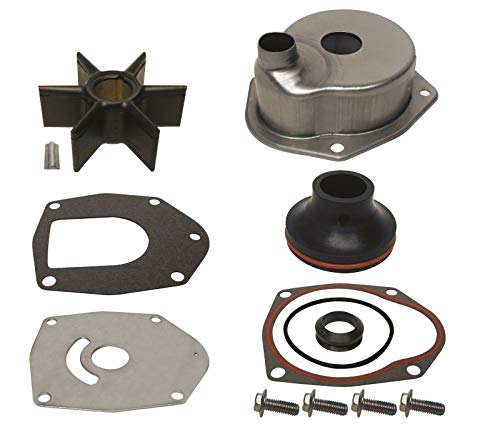 GLM Water Pump Impeller Kit with Housing for Mercury Verado 4-Stroke 135, 150, 175, 200, 225, 250, 275 Hp Replaces 817275A09 Read Item Description for Exact Applications