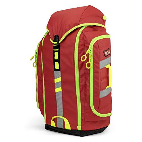 StatPacks G3 Backup Red, Urban EMT Medic Backpack, EMS ALS Trauma Bag for EMS, Police, Firefighters