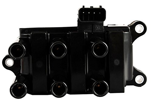 ENA Ignition Coil Pack compatible with 01-08 Ford - F150 Ranger Freestar Mustang Taurus - Mazda B3000 - Mercury Sable Monterey - V6 3.9L 4.0L 4.2L 2.5L 3.0L 3.8L Compatible with C1312 DG485 FD498