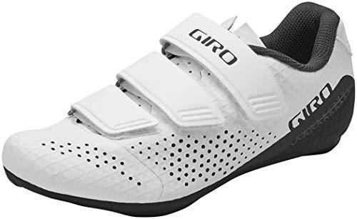 Giro Stylus W - Zapatillas de ciclismo para mujer, (Blanco (2021)), 42 EU