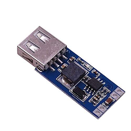 9 V / 12 V / 24 V bis 5 V DC-DC-Abwärts-Kfz-Ladegerät USB-Kfz-Ladegerät 3A-Ausgang Buck-Regler-Netzteilmodul