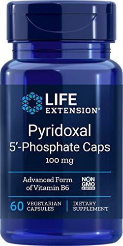 Life Extension, Pyridoxal 5'-Phosphate (P-5-P), 100mg, 60 Veg. Kapseln