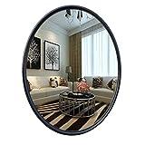 LKK-KK Llevado espejo de maquillaje espejo de maquillaje colgadas en la pared de cuerpo entero Espejo con marco,soporte Compatible with suelo marco de espejo montado en la pared de espejo de tocador e