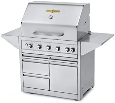 Amazon.com: Gas Grill Dyna-glo dgb390snp-d Smart Espacio ...