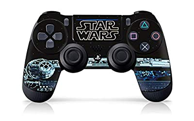 """Controller Gear Authentic and Officially Licensed Star Wars Legacy Games - PS4 Controller Skin """"Millennium Falcon"""" - PlayStation 4"""