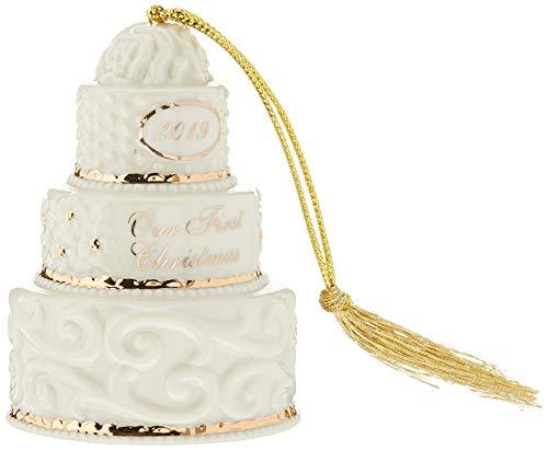 Lenox We're Engaged 2019 Gemstone Ornament