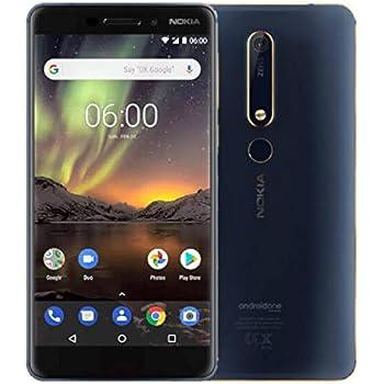 Nokia 6.1 Dual SIM 32GB 3GB RAM TA-1043 Azul Oro (Asian Version ...
