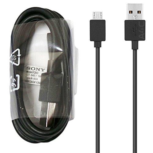 Cavo dati micro USB originale per Sony Xperia X XA X Performance Z5 M4 M5 Z4 Z3 Z2 Compact Premium e altre porte Sony Xperia Micro USB (senza confezione al dettaglio)