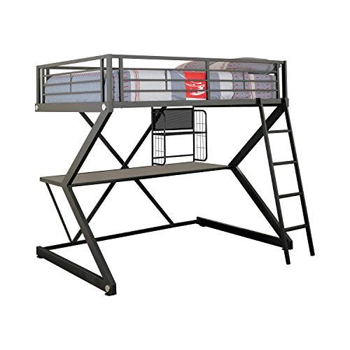 Hot Sale Coaster Loft Bed Full Size Work Station