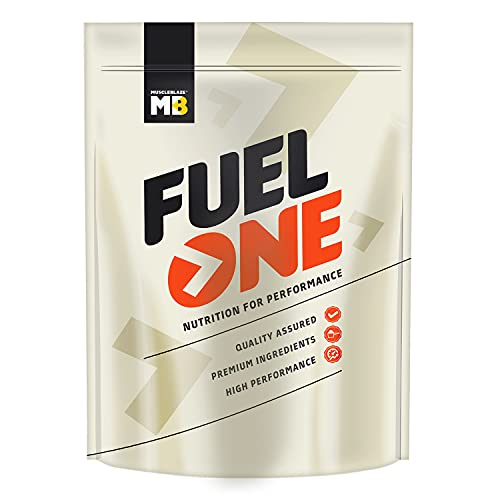 MuscleBlaze Fuel One Whey Protein, 24 g Protein, 5.29 BCAA, 4.2 g Glutamic Acid (Chocolate, 1 kg / 2.2 lb, 30 Servings)