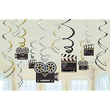 AmscanAdornos de espirales de Hollywood