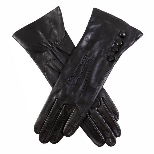 Dents Damen Handschuh, Schwarz, 34 (Herstellergröße: 8 UK)