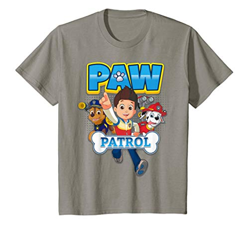 Kids PAW Patrol Ryder And Pups Action T-Shirt
