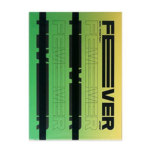ATEEZ 5Th Mini Album - ZERO : FEVER PART.1 [ THANXX ver. ] CD + Photo Booklet + Sticker + Post Cards + Photocard + FREE GIFT