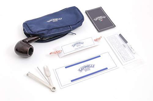 "Savinelli Pipa""BASIC"" - Kit ufficiale completo (6 mm, 602)"